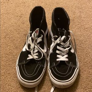 Vans - almost new only worn twice!